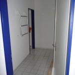 Eingang zu WC Anlage